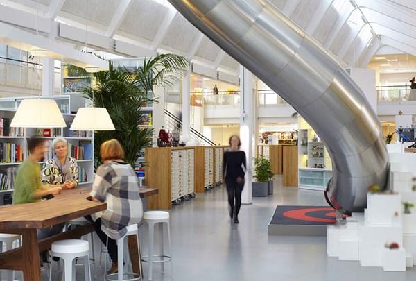 Thiết kế nội thất văn phòng ấn tượng với văn phòng Autodesk