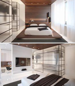 Cách thiết kế nội thất cho chung cư 2 phòng ngủ