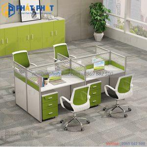 Sự góp mặt của bàn văn phòng có vách ngăn trong không gian làm việc hiện nay - 1