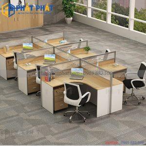 Sự góp mặt của bàn văn phòng có vách ngăn trong không gian làm việc hiện nay - 2