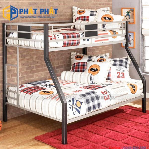 Những mầu giường tầng sắt với thiết kế đẹp và hiện đại nhất - 2